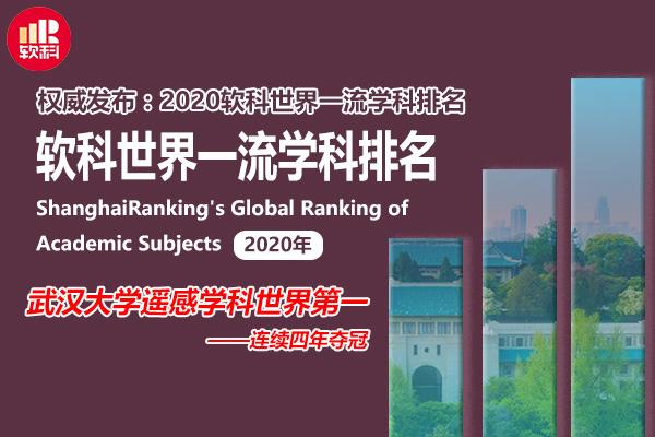 武汉大学遥感学科世界第一