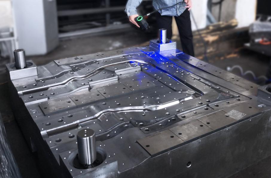 中观三维扫描仪在模具行业的广泛应用——塑料模具/精密模具/汽车模具/铸造模具